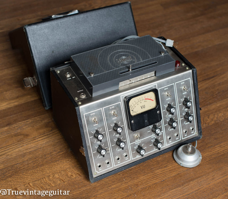 Groupmaster Echoplex, large tape echo, VU Meter