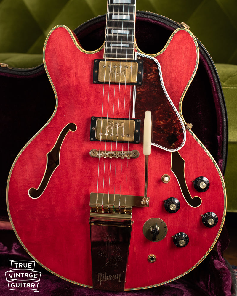 1972 Gibson ES-355 TDSV Cherry Red guitar