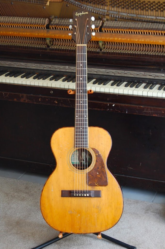 Pre-war Epiphone Flat-top: 1940 Epiphone FT-50