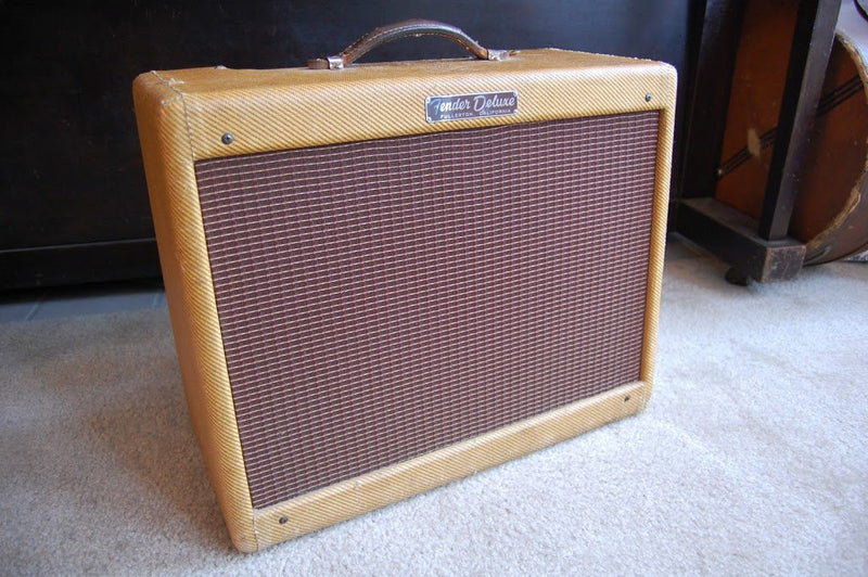 The Holy Grail of vintage guitar amplifiers: 1956 Fender Deluxe