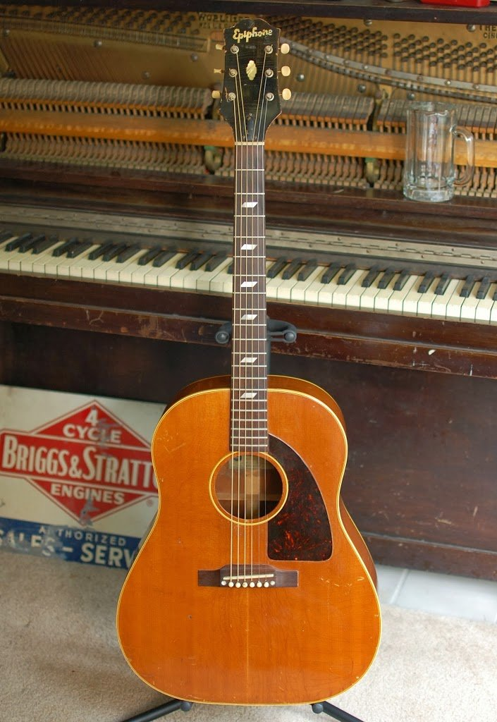 The first appearance of the Epiphone Texan - c.1958