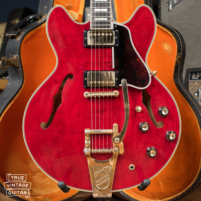 Vintage 1967 Gibson ES-355 TDC mono, Bigsby, Grovers, custom
