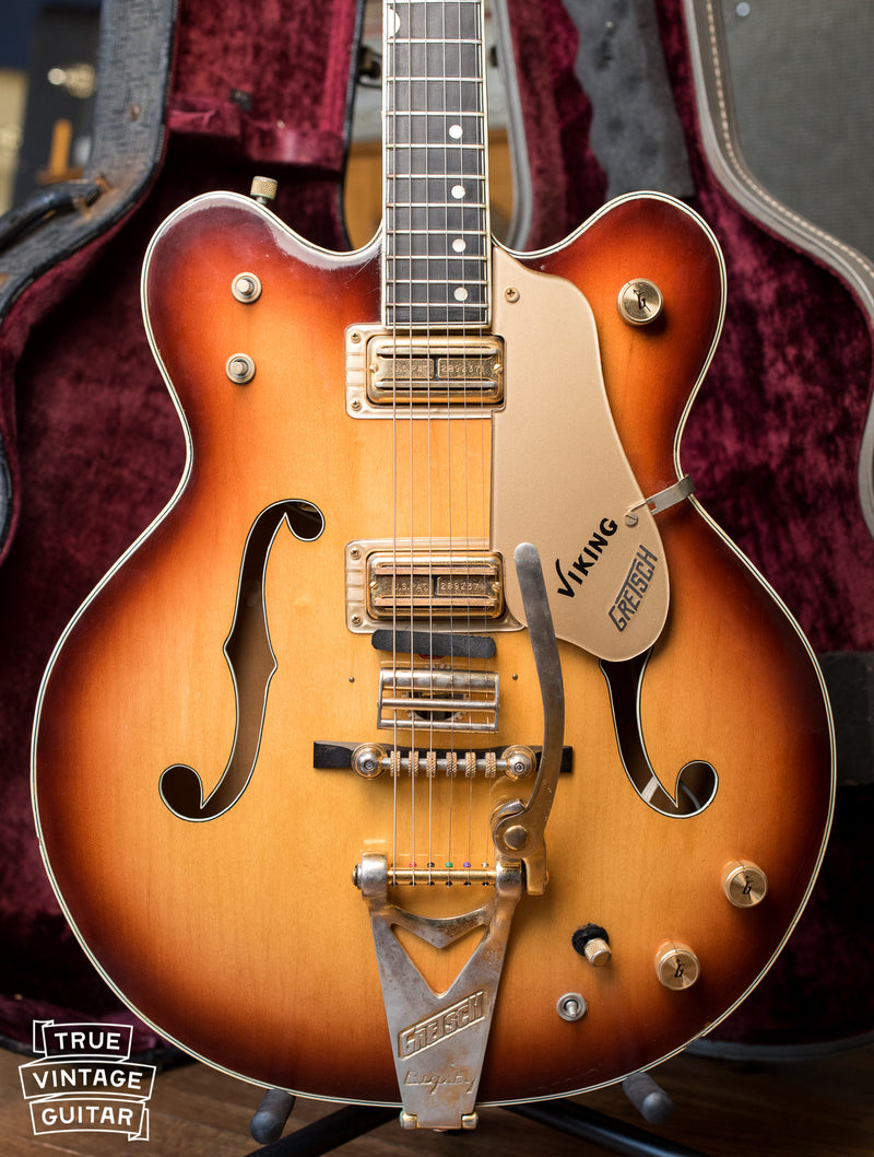 Vintage 1967 Gretsch 6187 Viking electric guitar