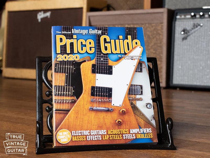 Vintage Guitar Values in the 2020 Vintage Guitar Price Guide