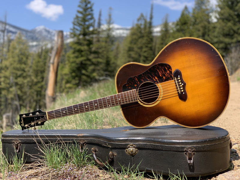 1941 Gibson Super Jumbo 100 outside of Missoula, Montana