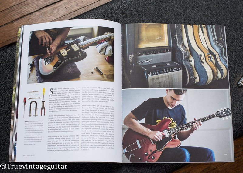 True Vintage Guitar in Iron & Air's Issue #034