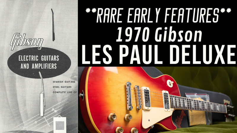 Vintage Gibson Les Paul: 1970 Gibson Les Paul Deluxe!