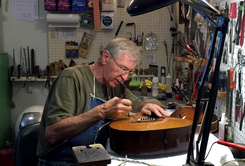 Vintage Guitar Restoration in Florida - Teigen Guitars