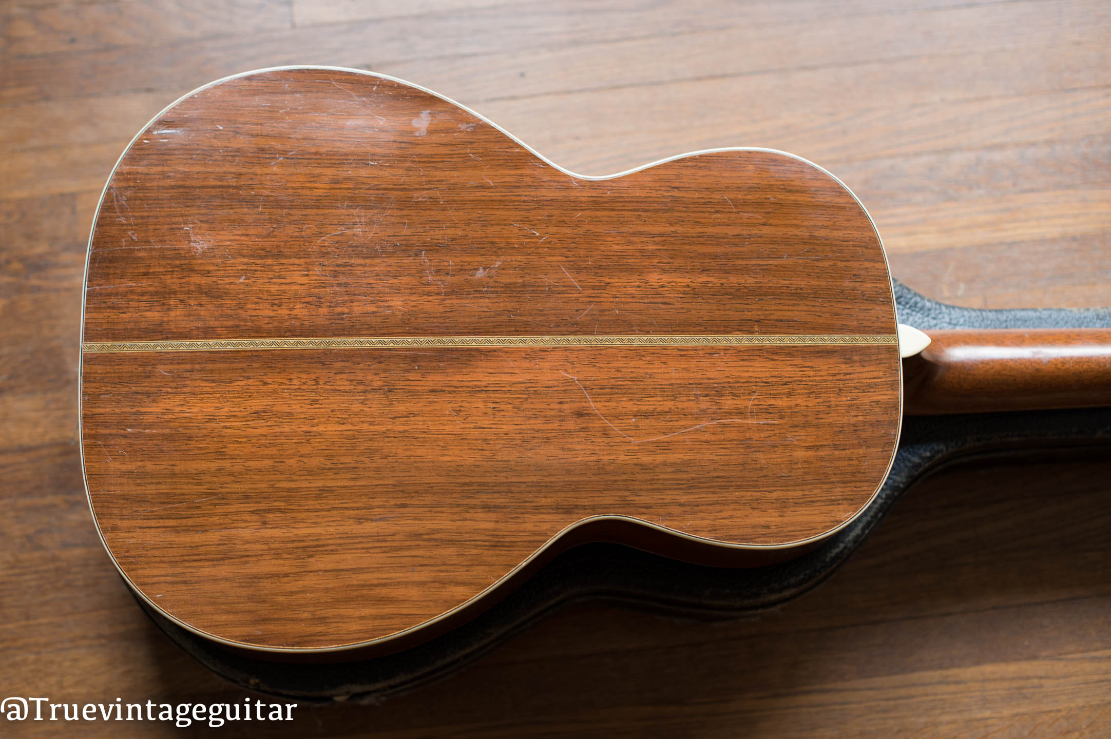 Brazilian Rosewood back and sides, 1929 Martin 00-28