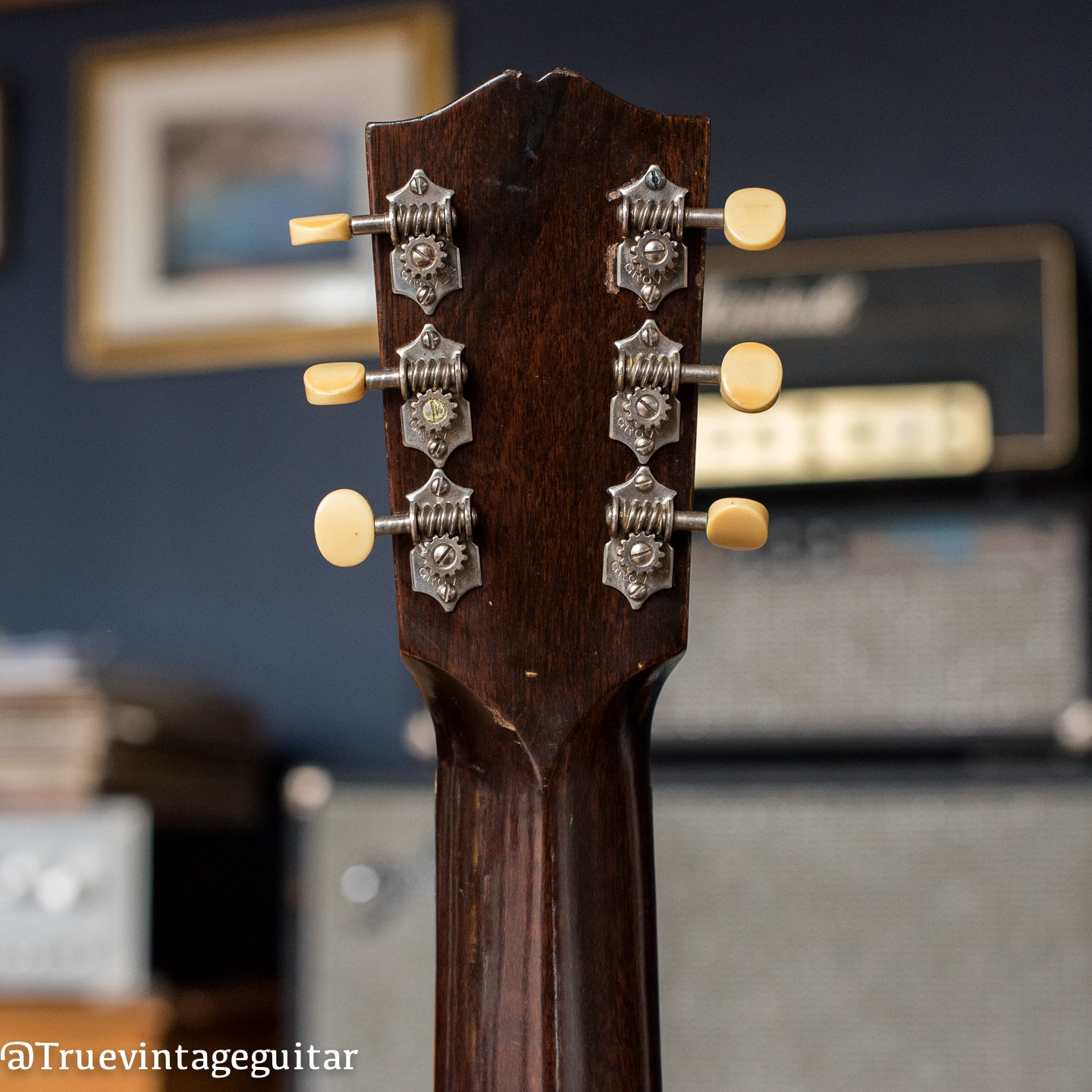 1930s Gibson acoustic guitar
