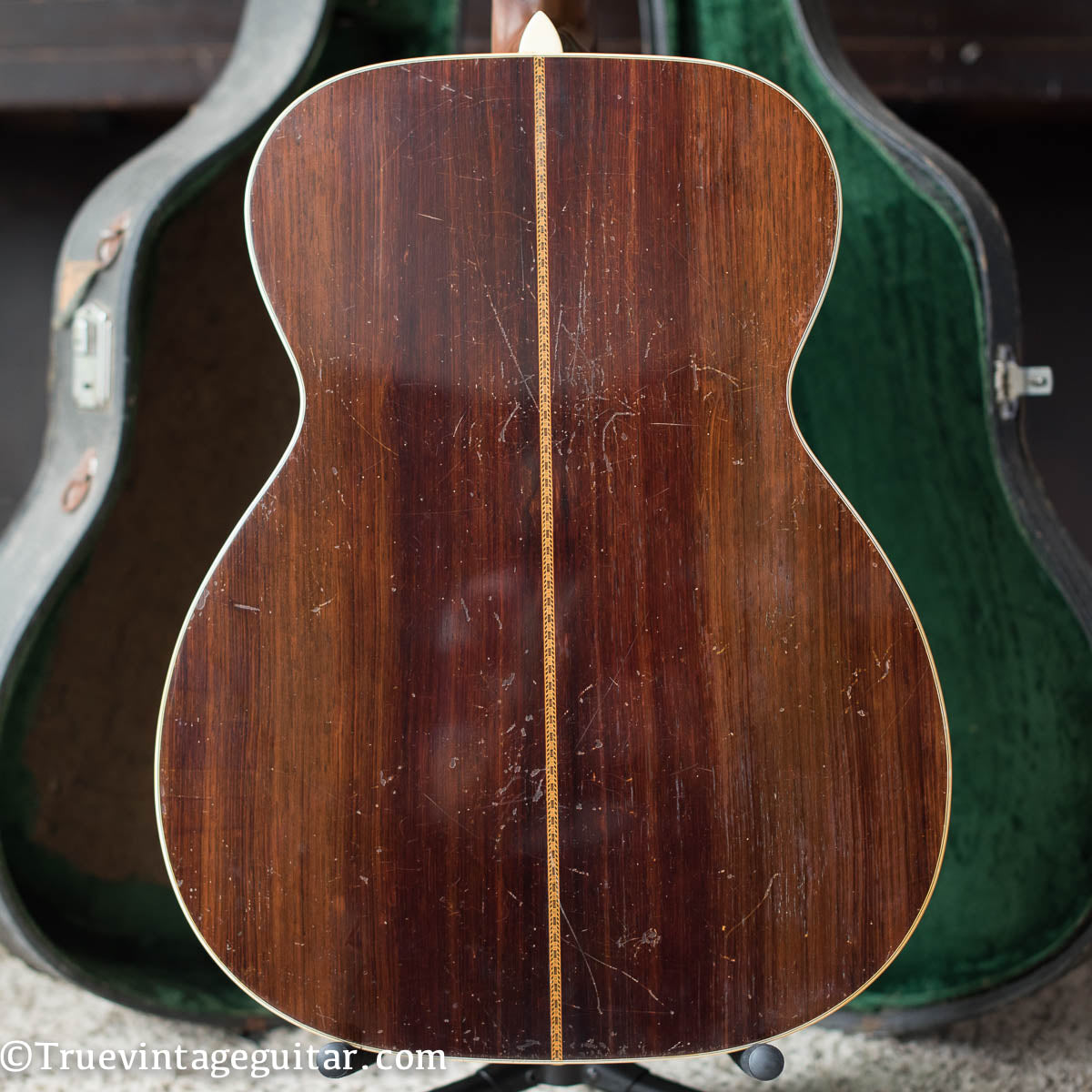 Brazilian Rosewood back and sides, Vintage 1941 Martin 000-42 acoustic guitar