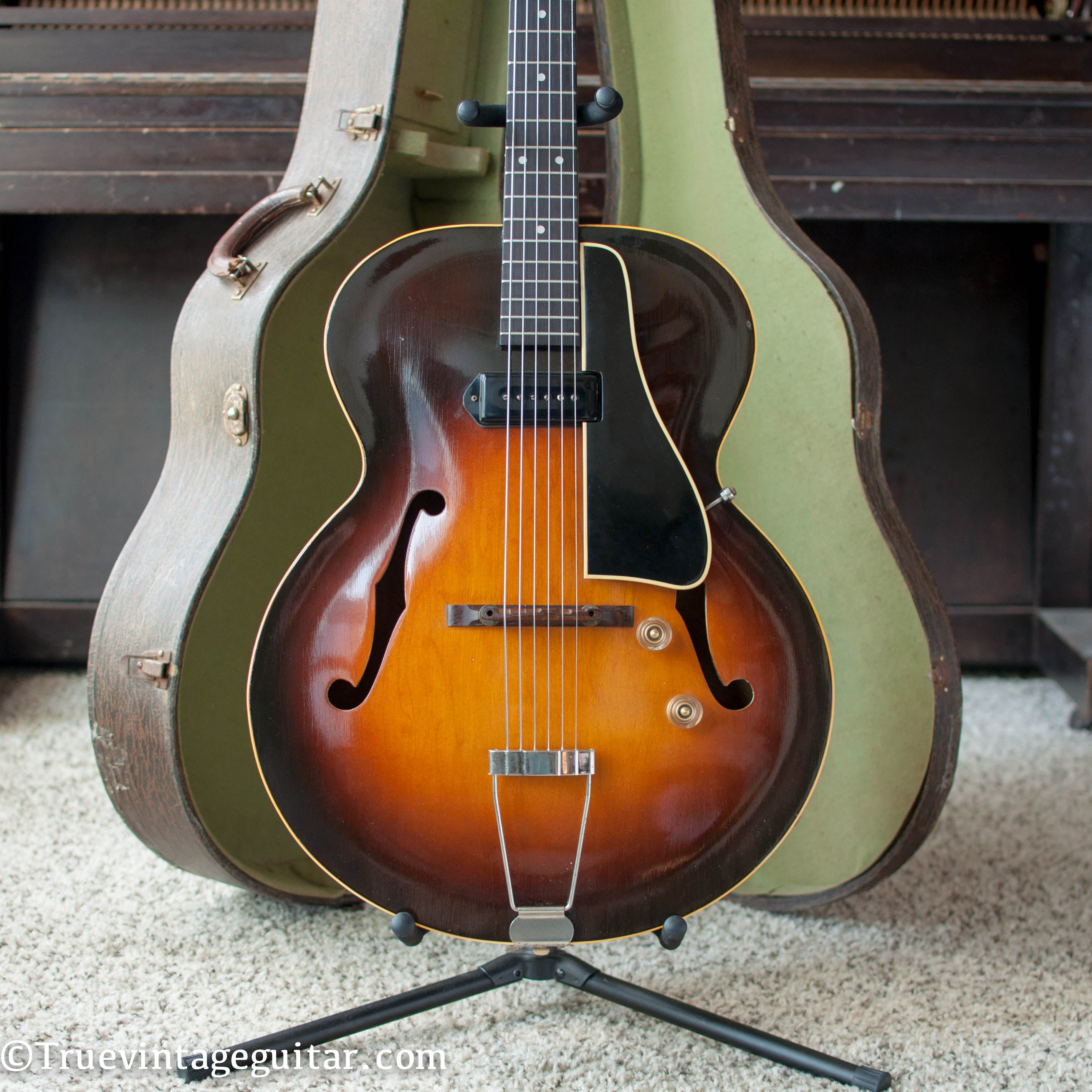 Gibson archtop electric guitar vintage 1948 ES-150