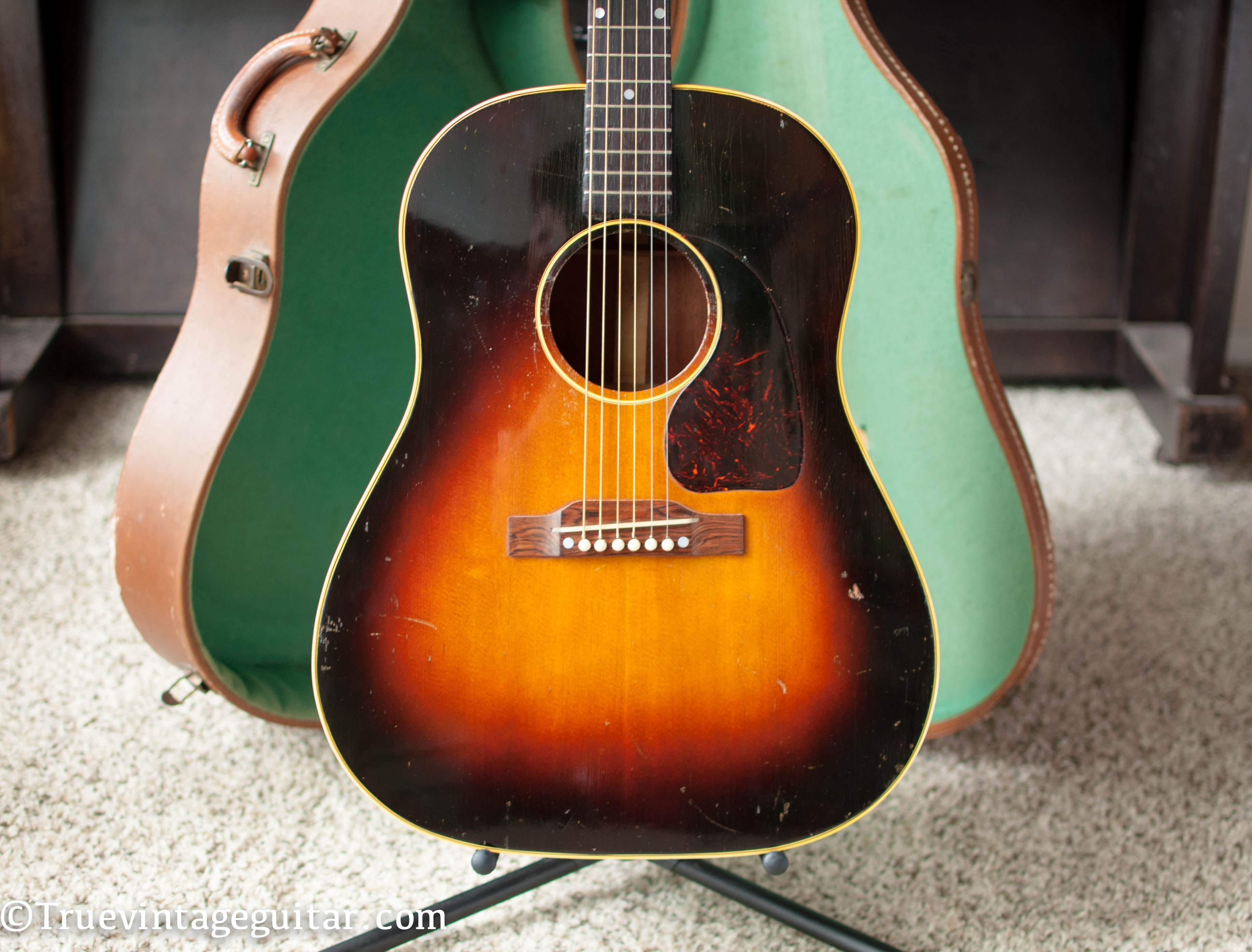 Vintage 1953 Gibson J-45 acoustic guitar