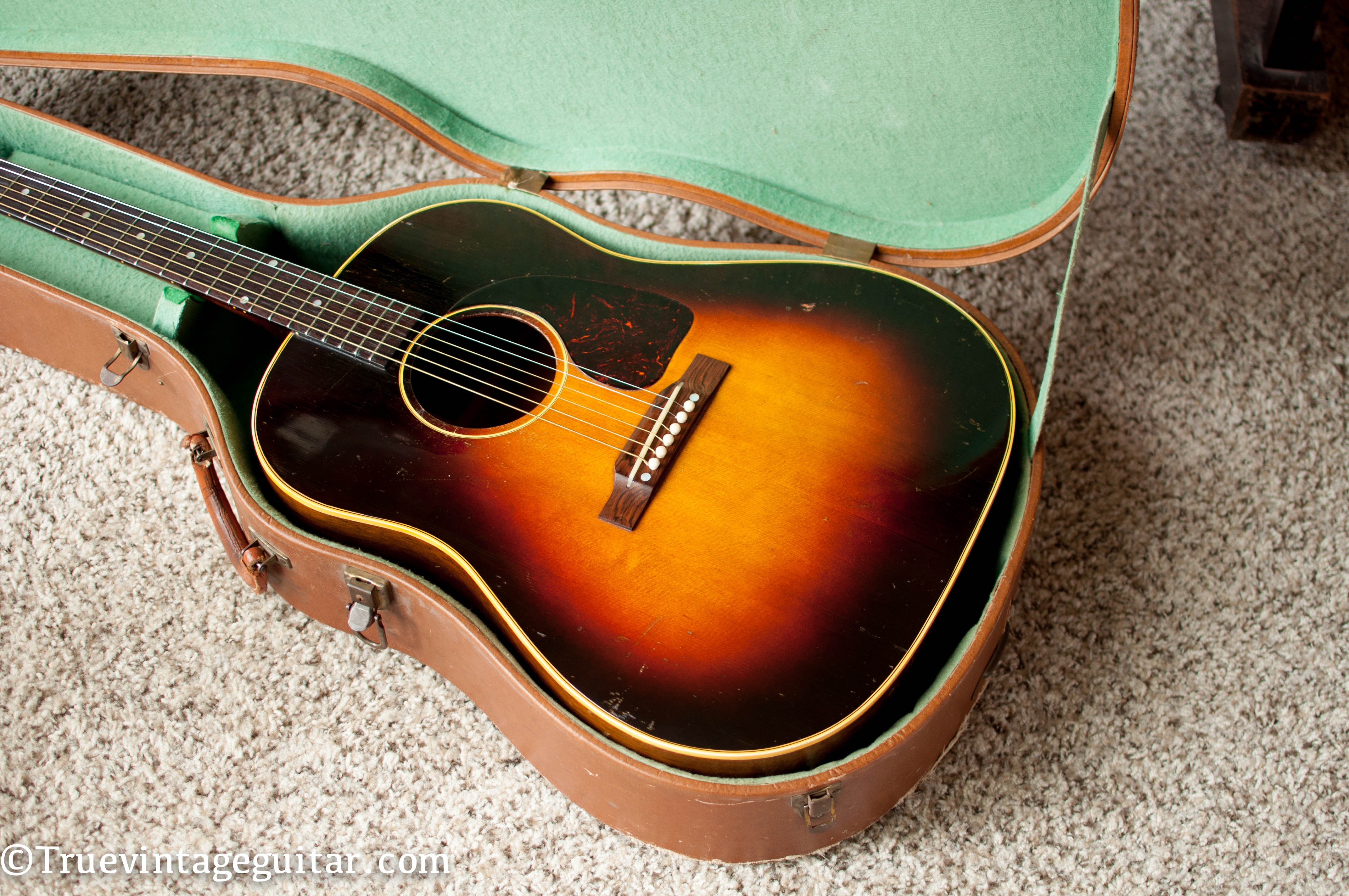 1950s Gibson acoustic guitar
