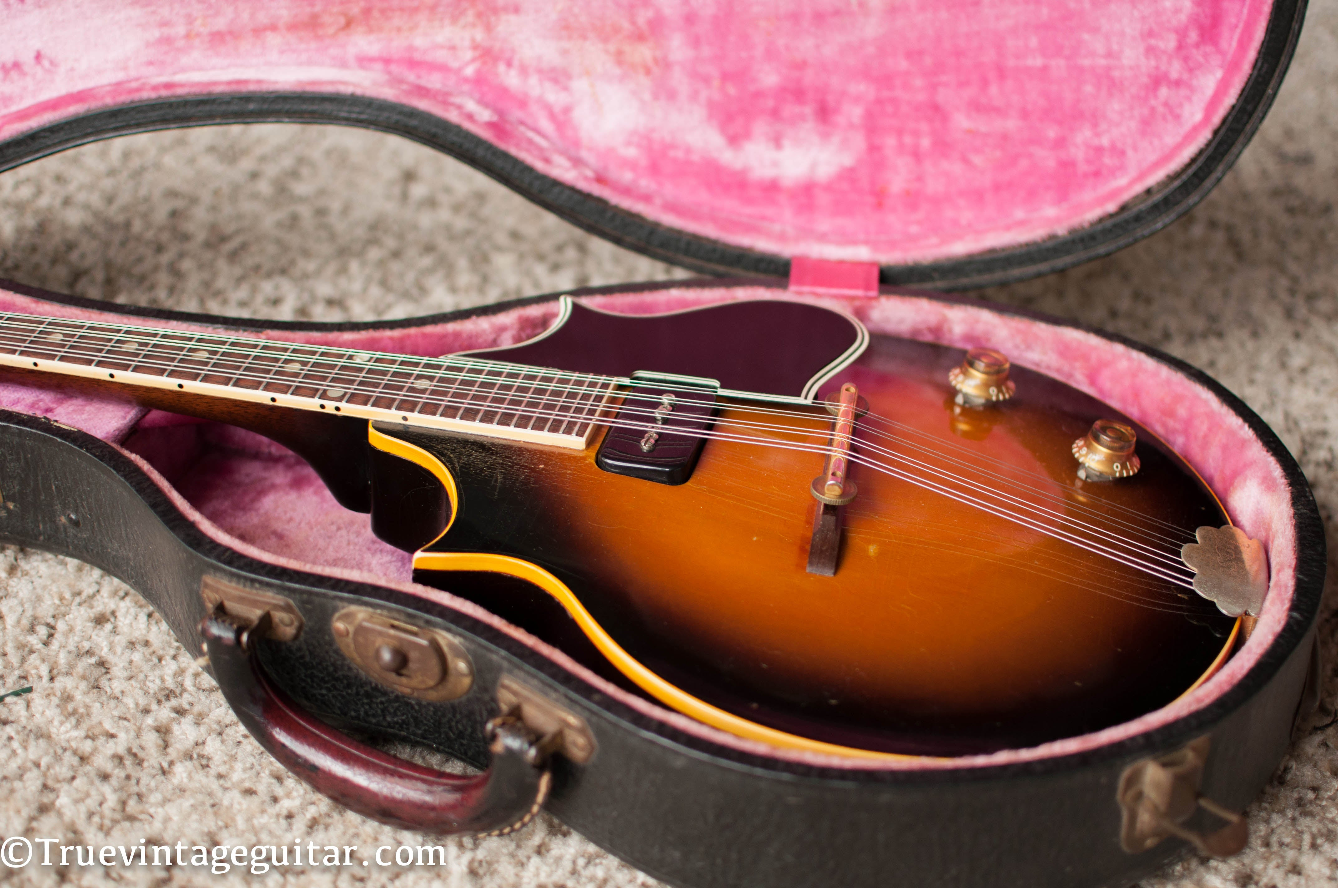 Vintage Gibson solid body electric mandolin 1950s