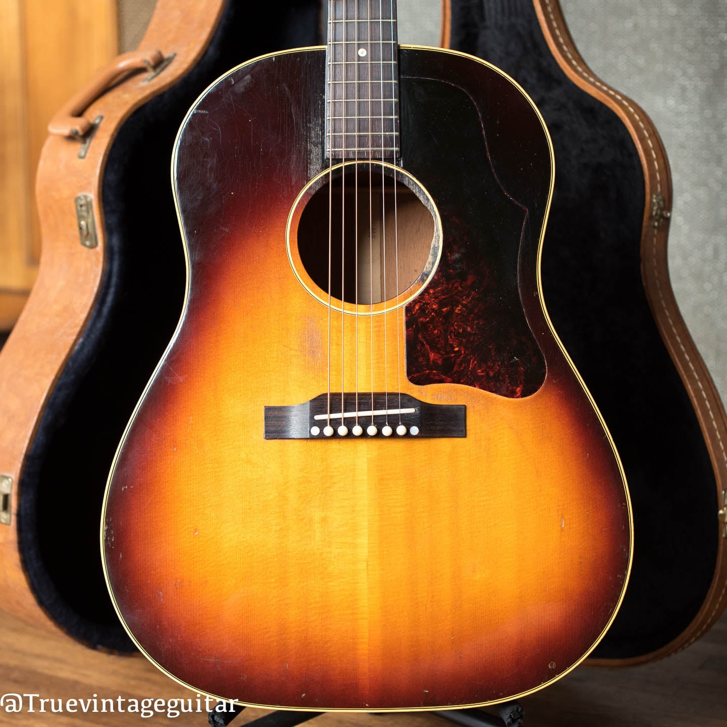 Vintage 1957 Gibson J-45 acoustic guitar