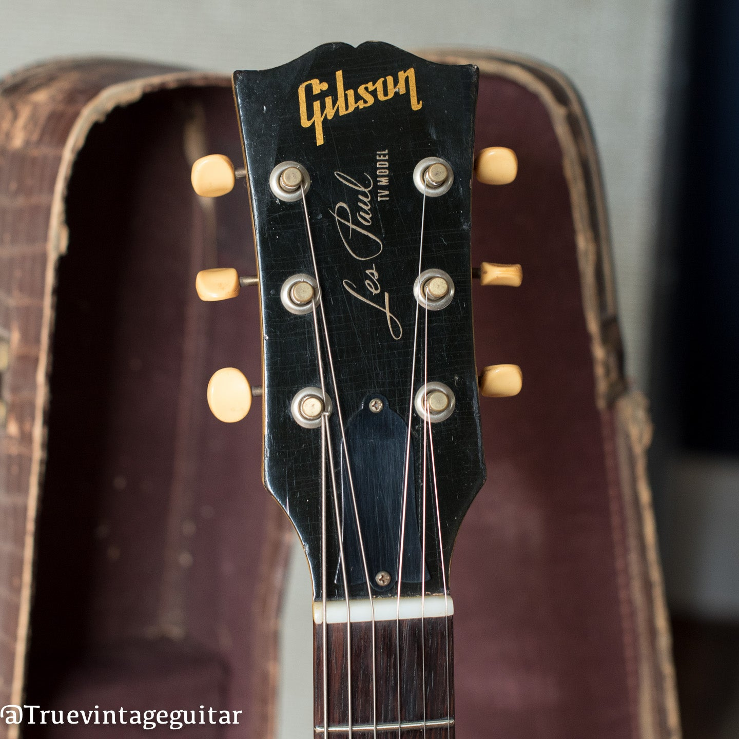 vintage Gibson Les Paul guitar collector