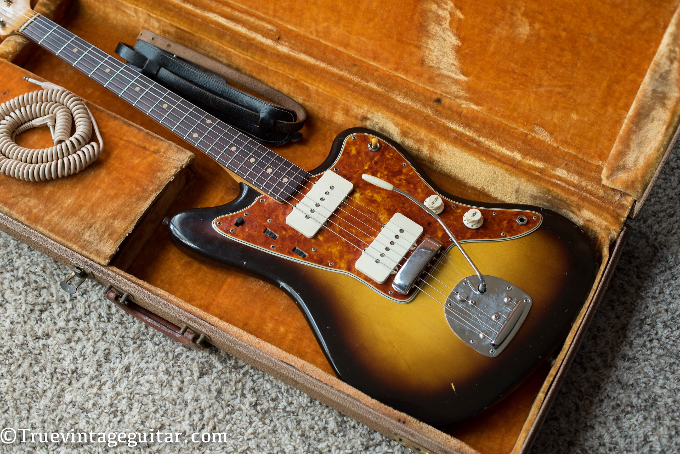Vintage 1960 Fender Jazzmaster electric guitar