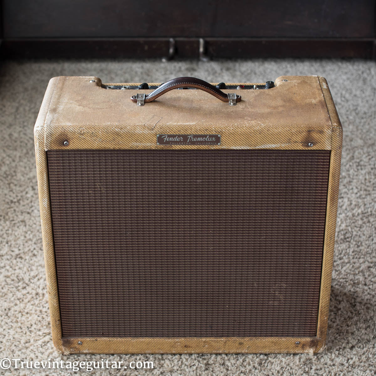 Vintage 1960 Fender Tremolux 5G9 Guitar Amplifier