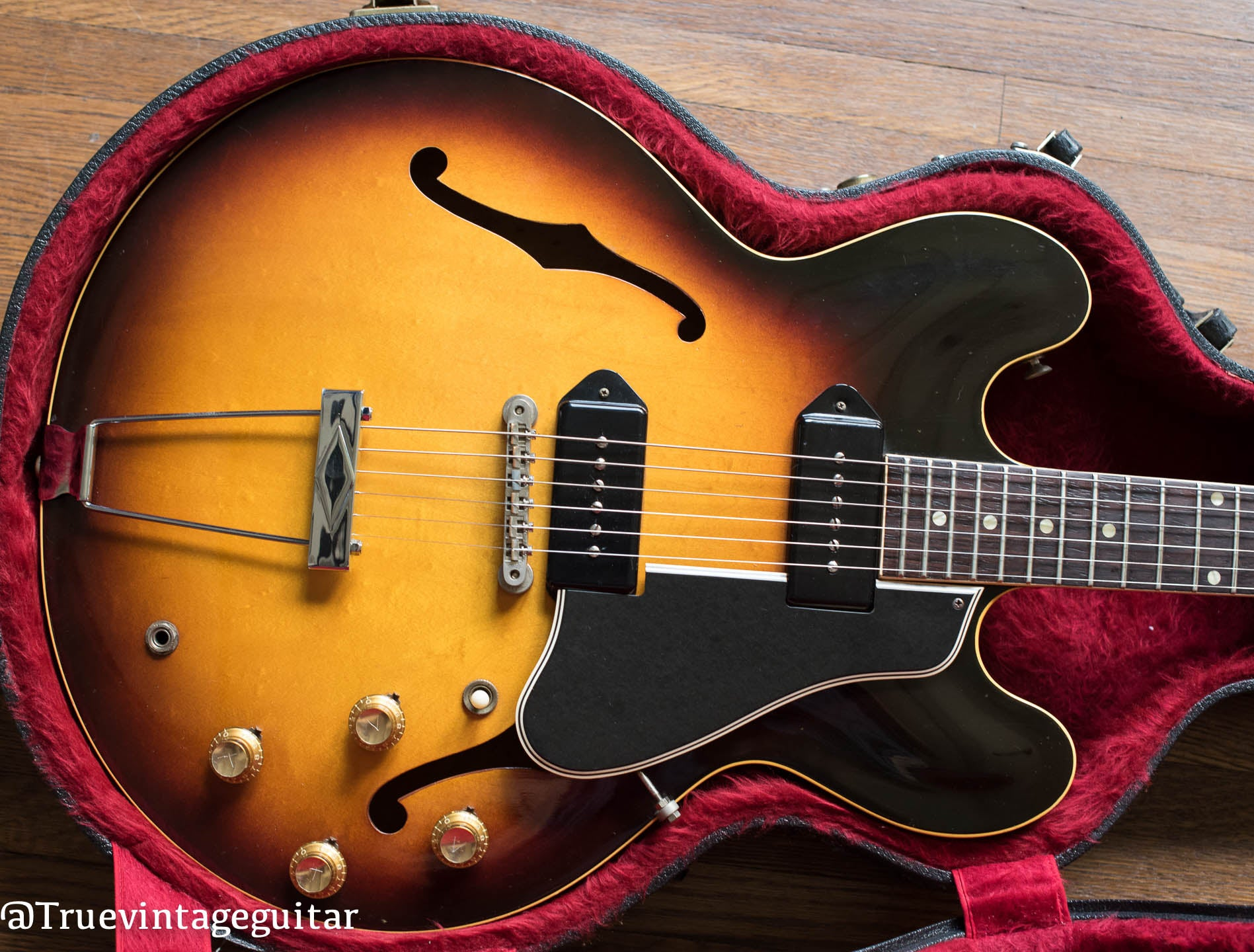 Vintage Gibson electric guitar 1960