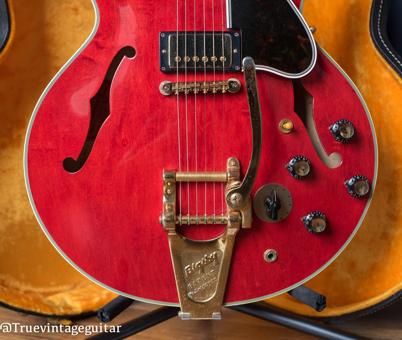 1960 Gibson ES-355 TDSV with Bigsby tailpiece