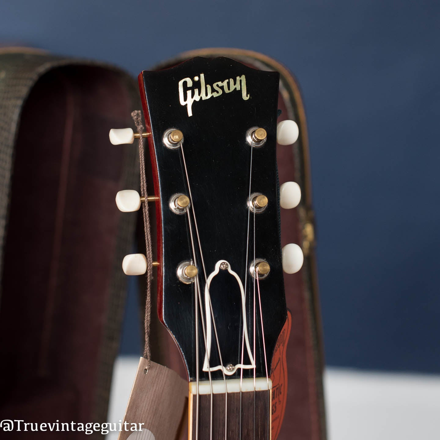 1960 Gibson SG Special headstock