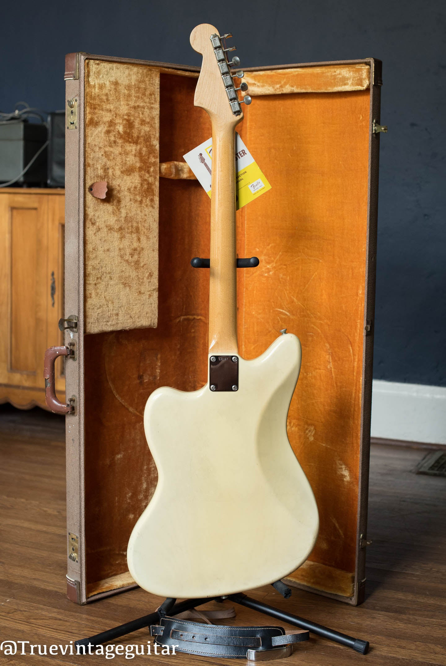 1961 Fender Jazzmaster Guitar, Blond finish over Ash body, back
