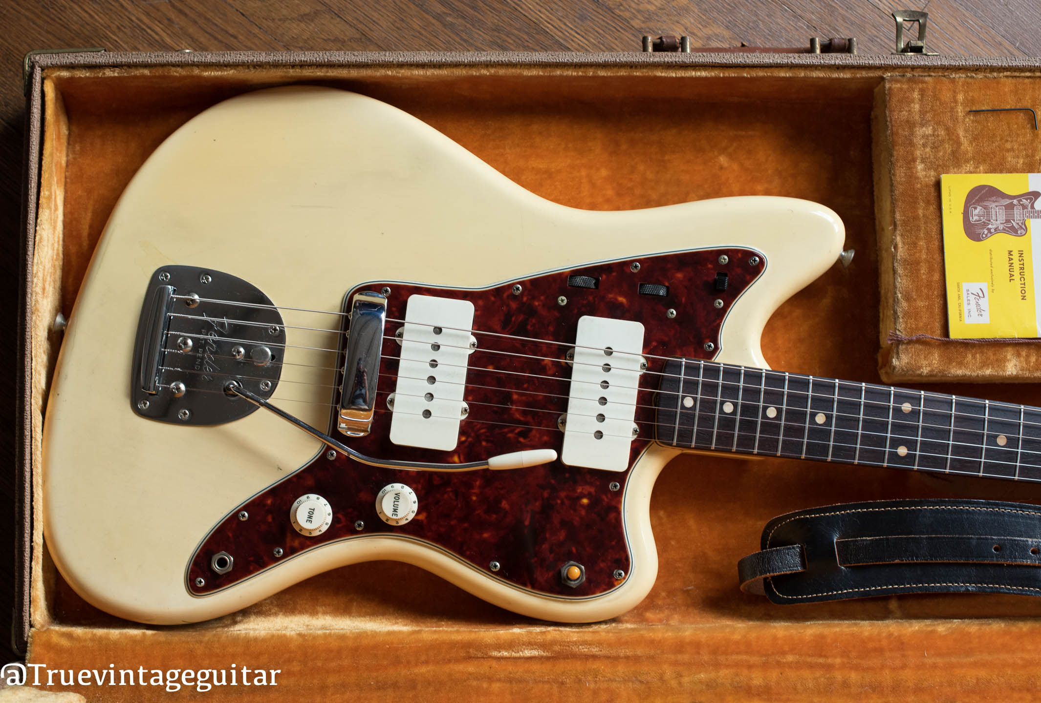 1961 Fender Jazzmaster Guitar, Blond finish over Ash body in original case