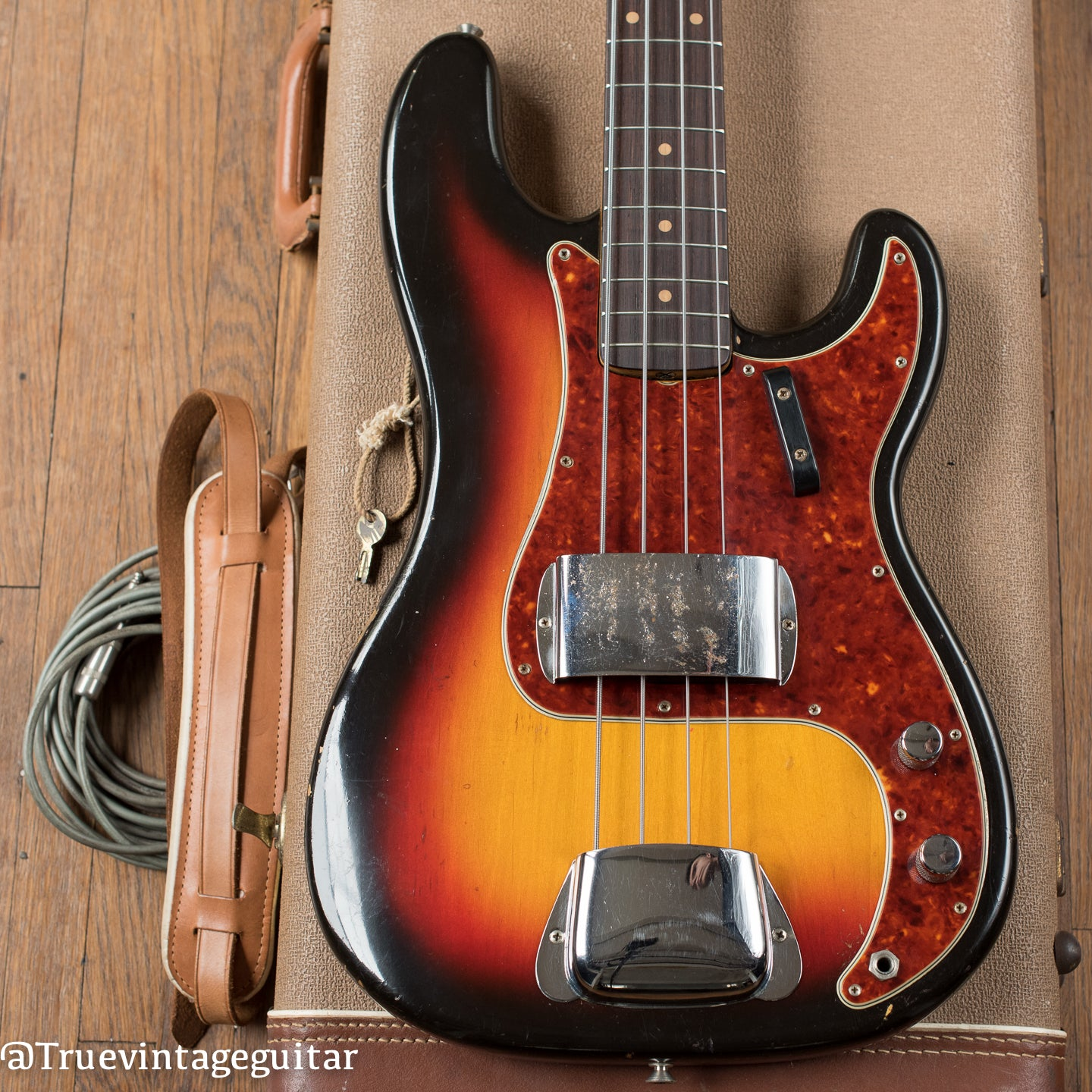 Vintage 1963 Fender Precision Bass Sunburst