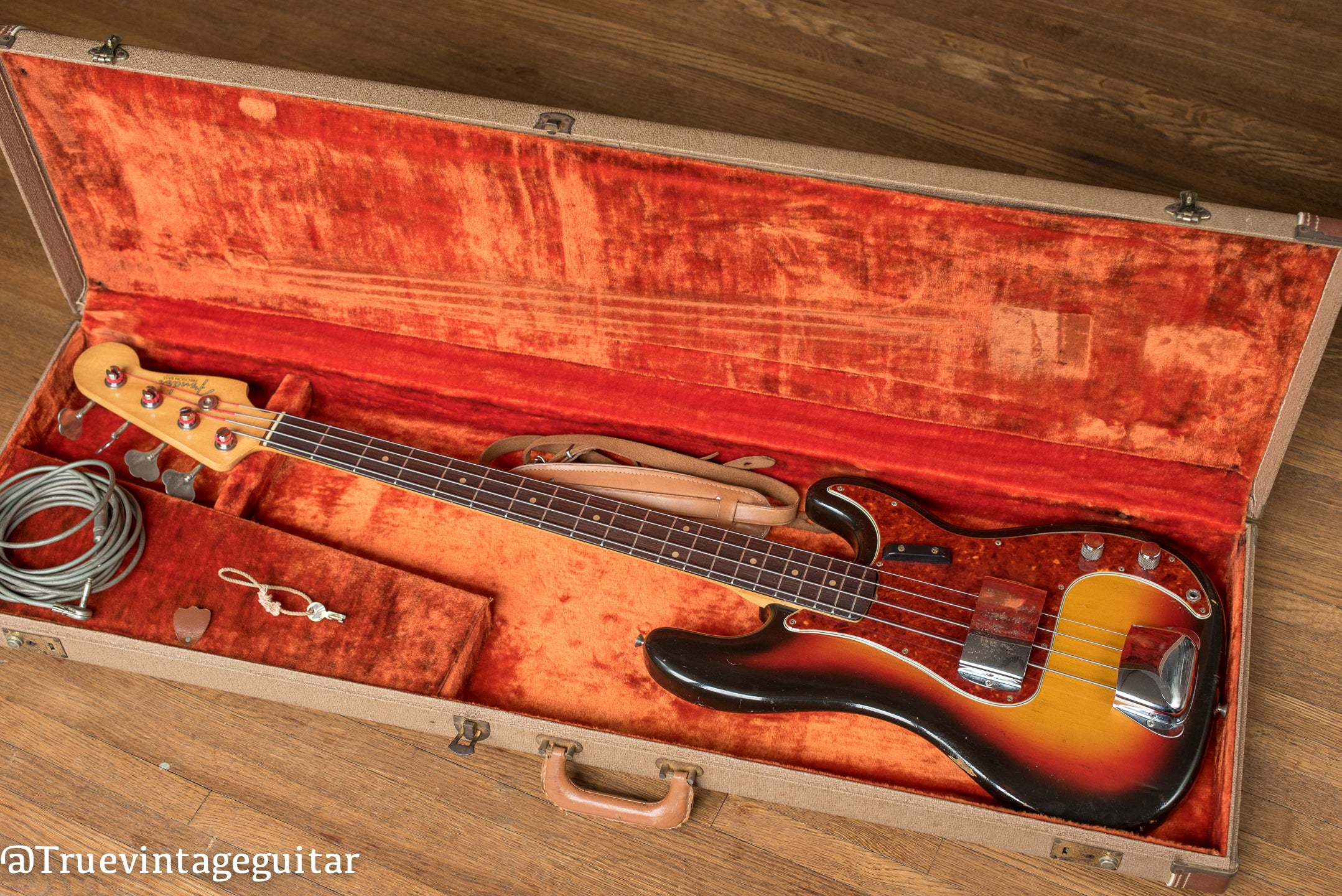 Vintage 1963 Fender Precision Bass, P Bass, in original case