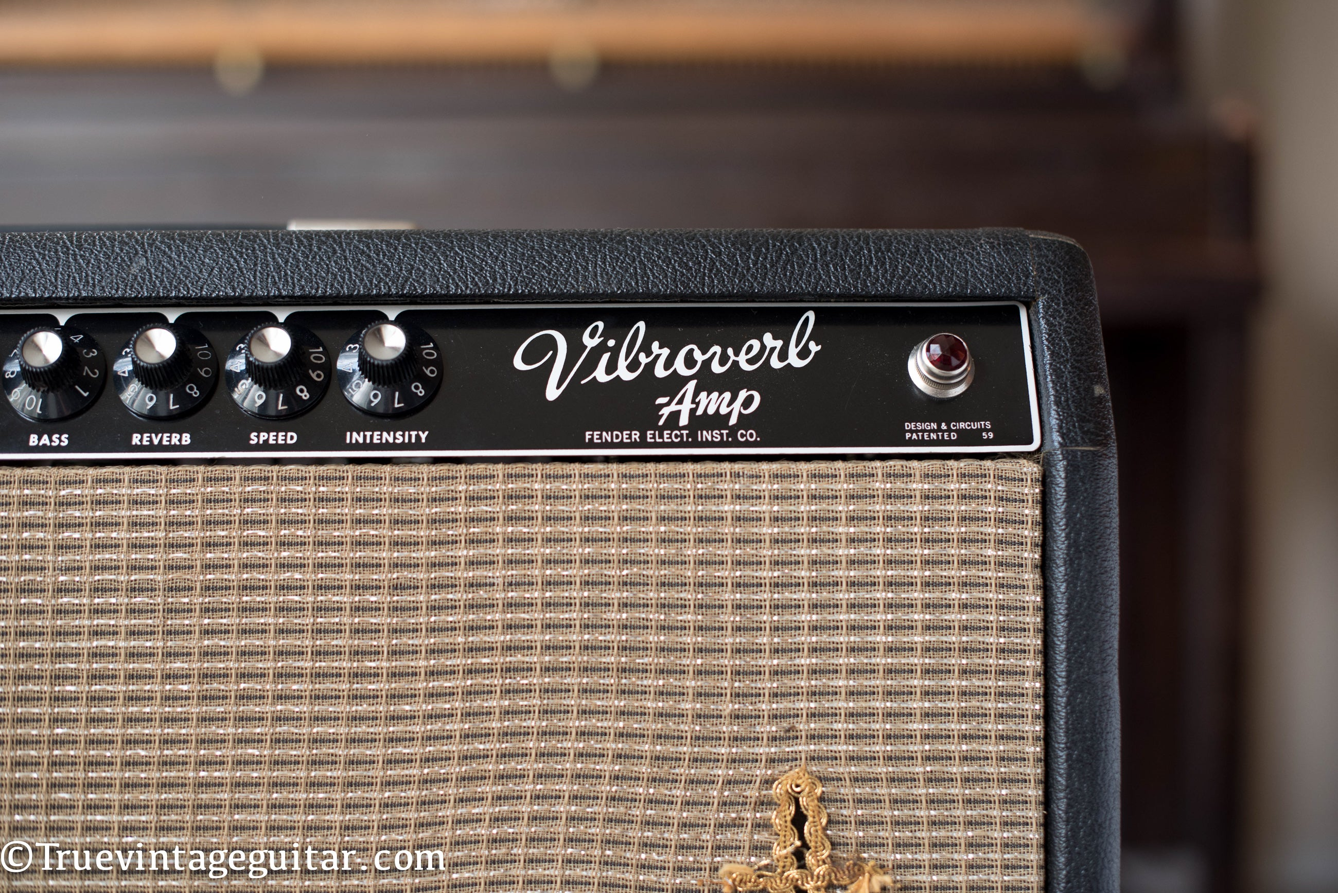 Vibroverb, 1964 Fender guitar amplifier