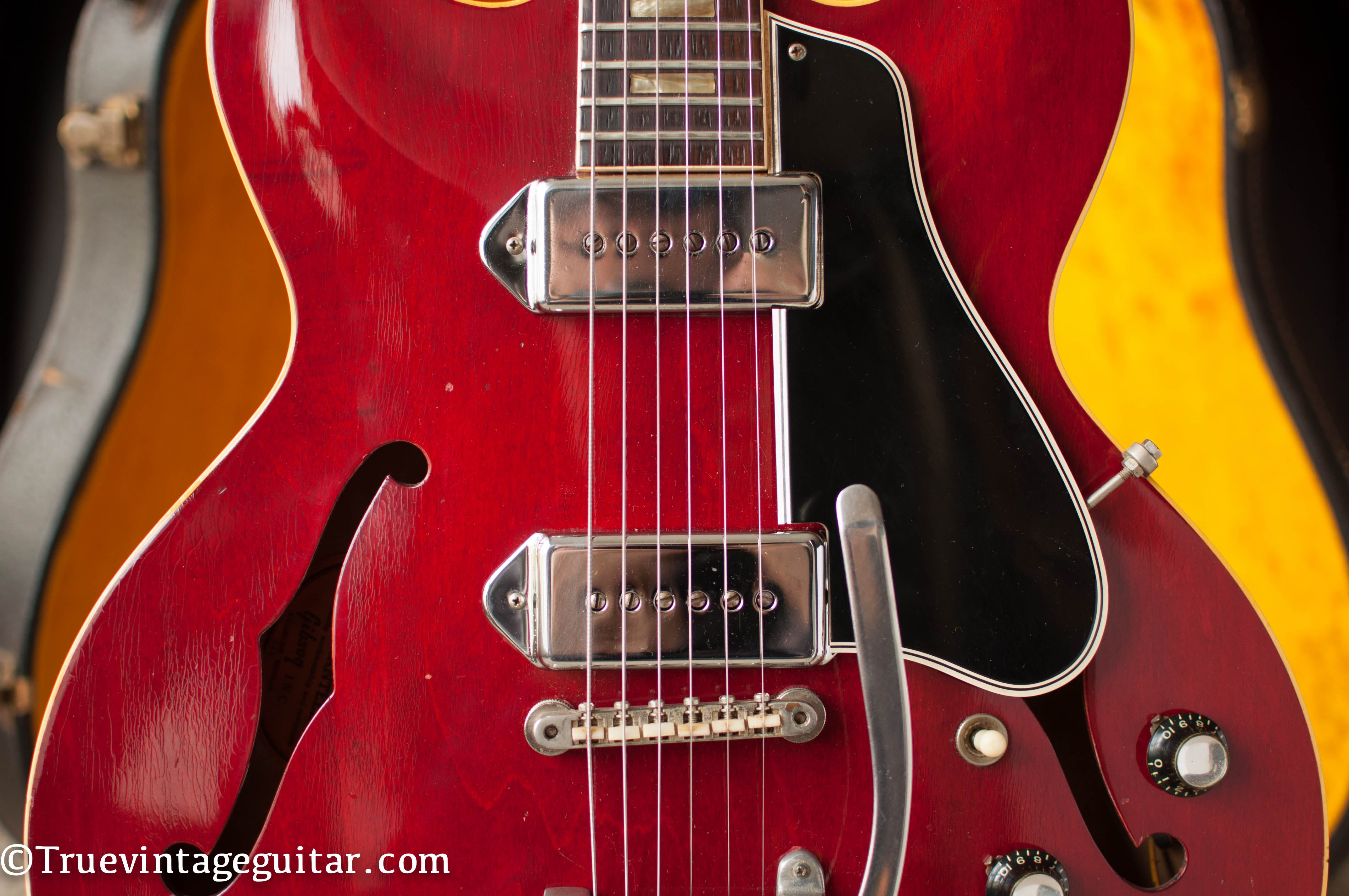 P-90 single coil pickups, 1964 Gibson ES-330