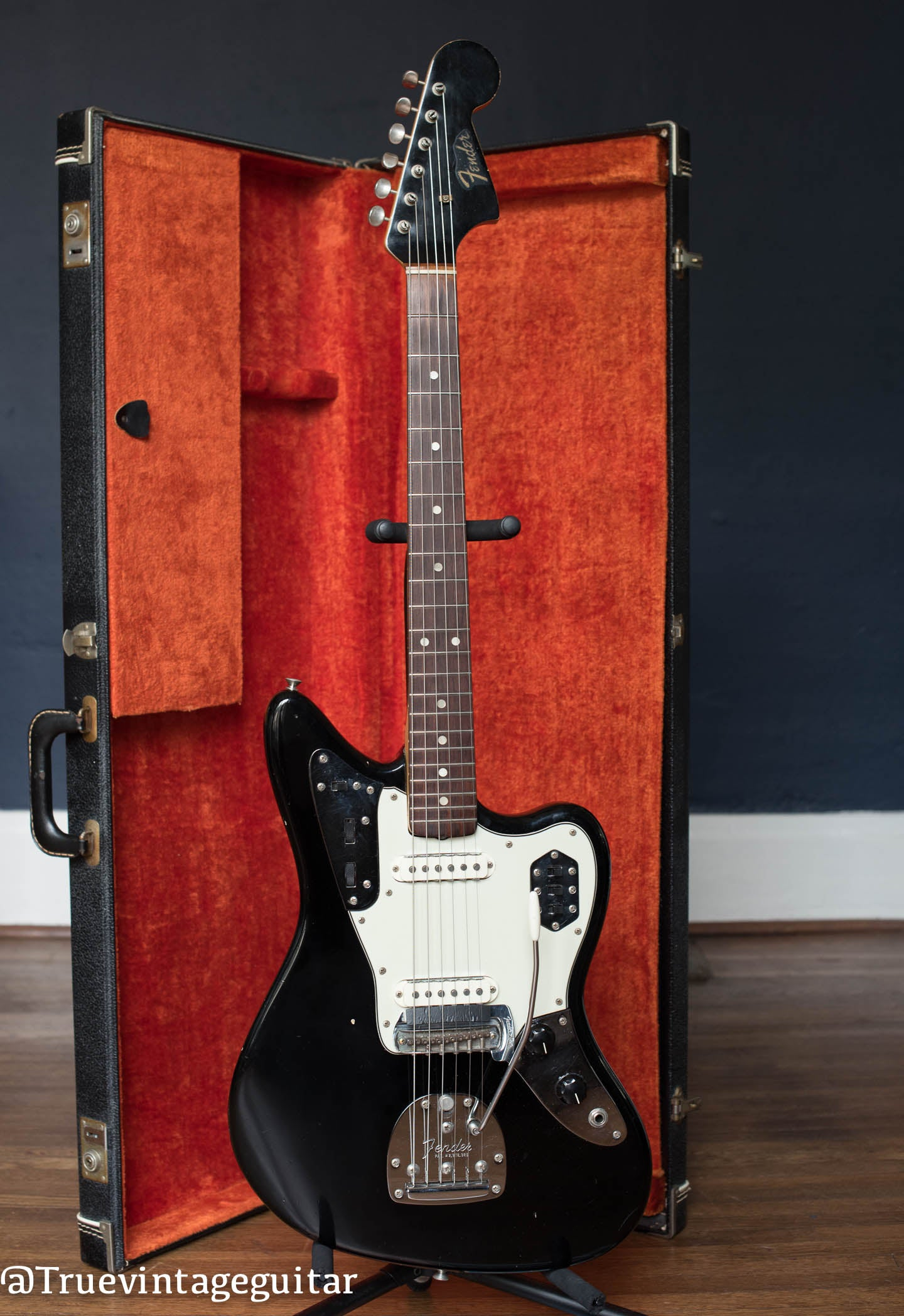 1964 Fender Jaguar Black