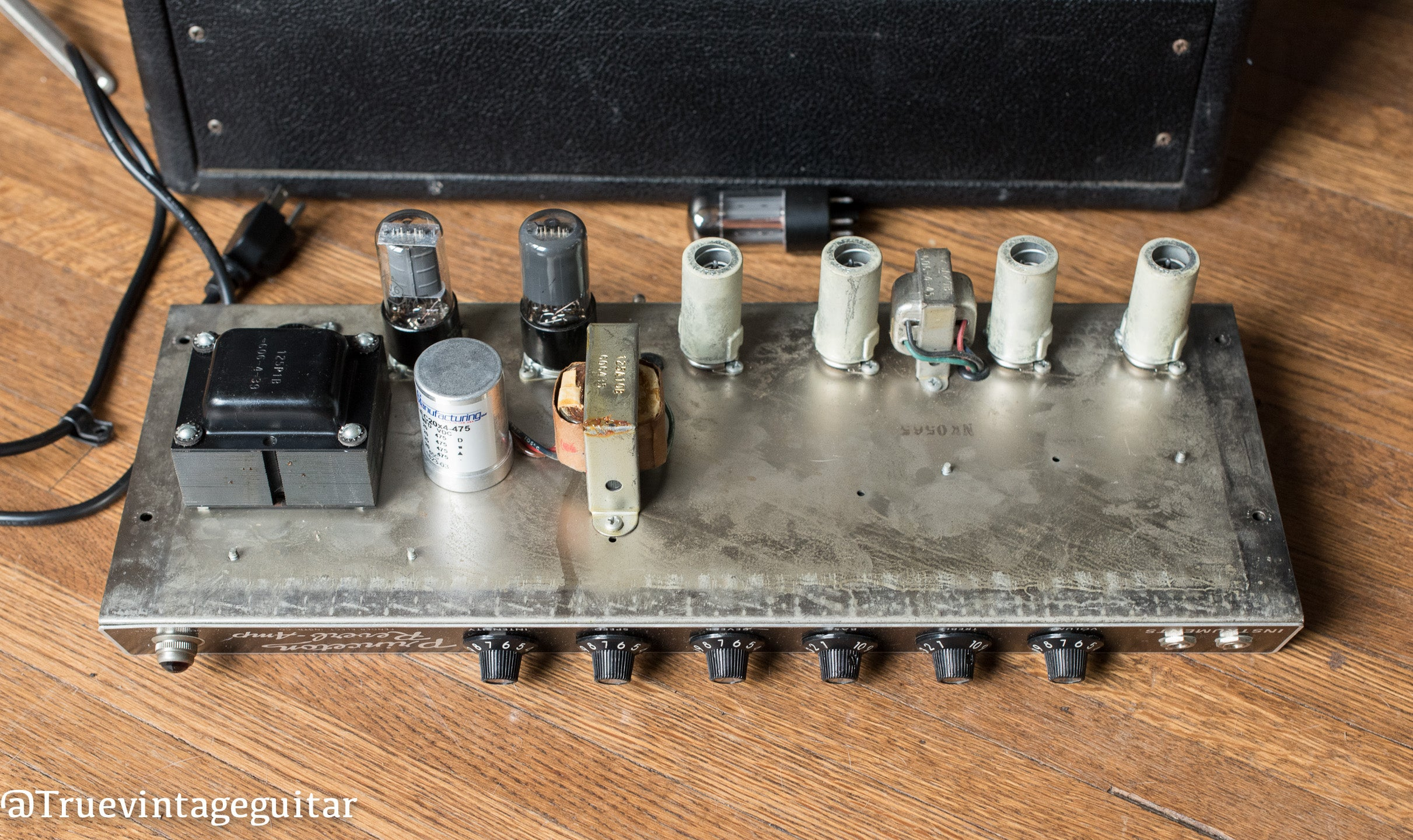 Original power transformer, output transformer, Vintage 1965 Fender Princeton Reverb Amp Amplifier