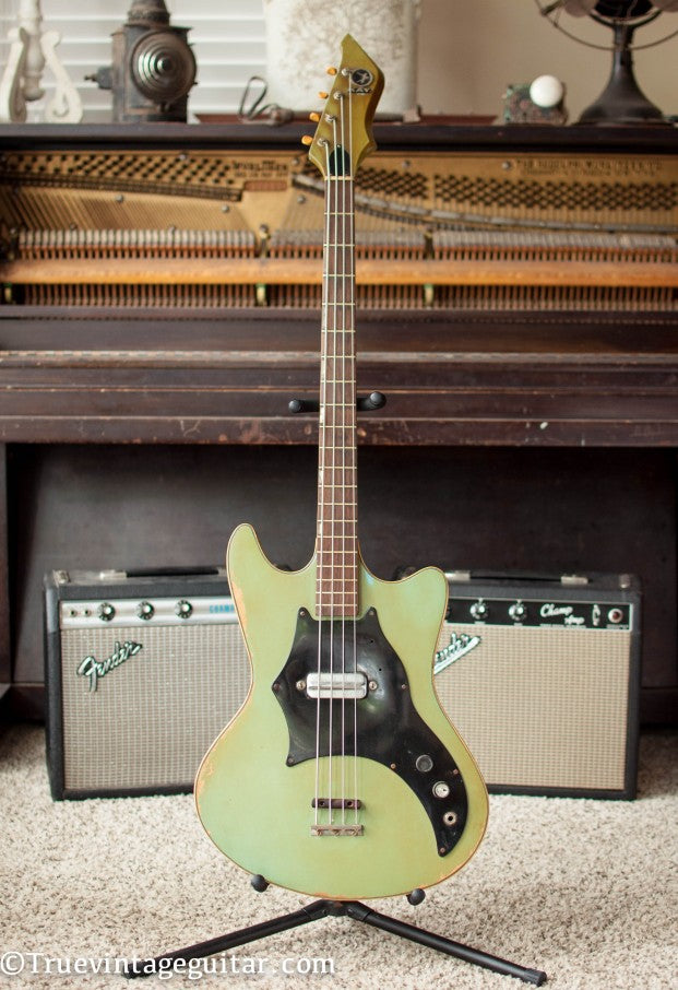 1966 Kay Electric Bass-001