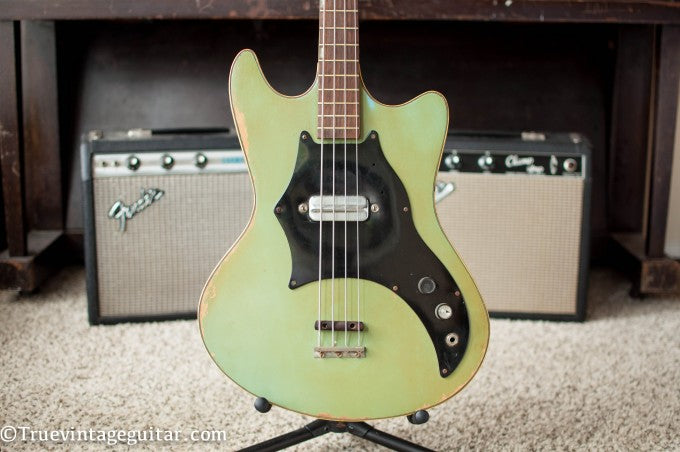 1966 Kay Electric Bass-003