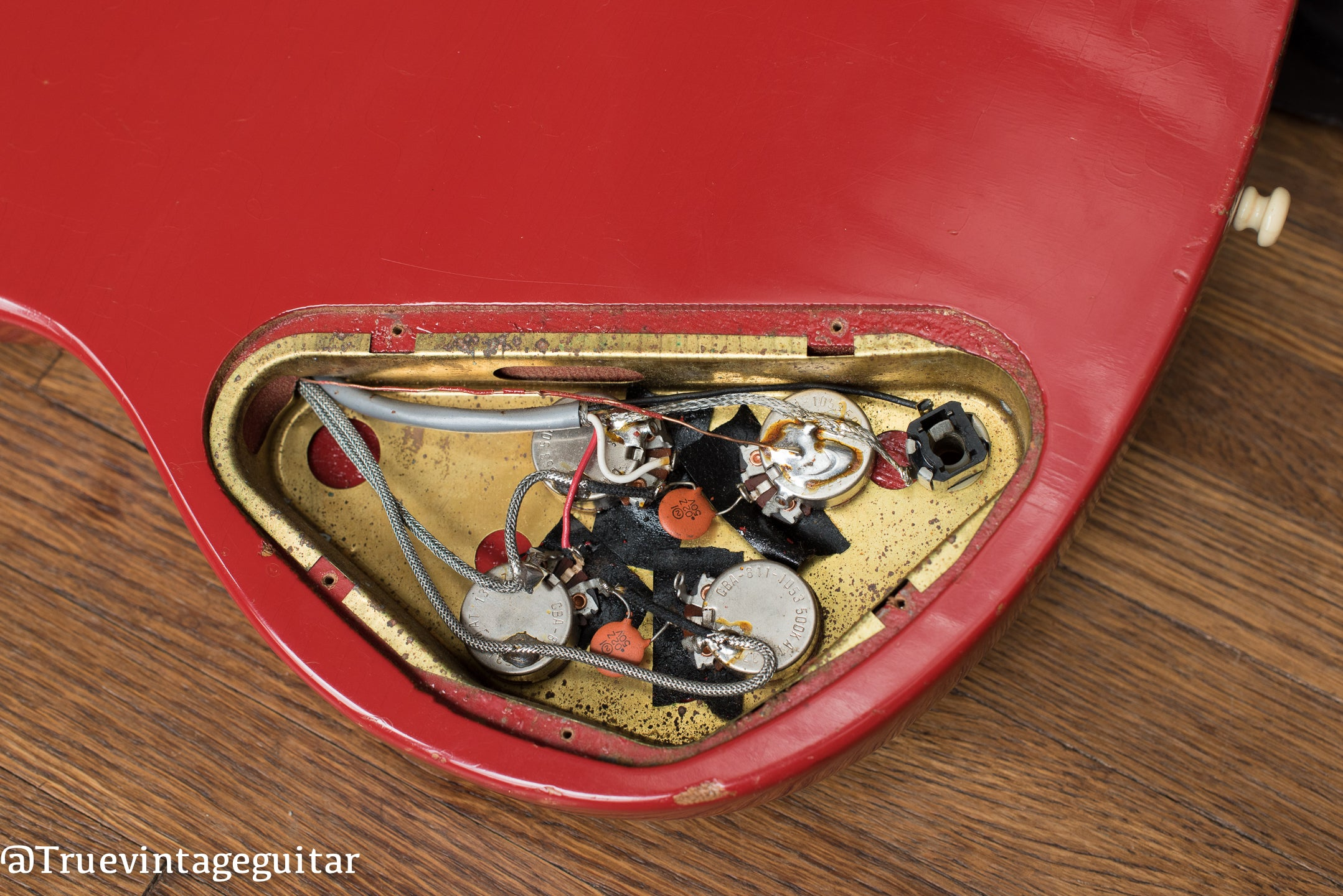 How to date vintage Gibson guitar with potentiometer codes