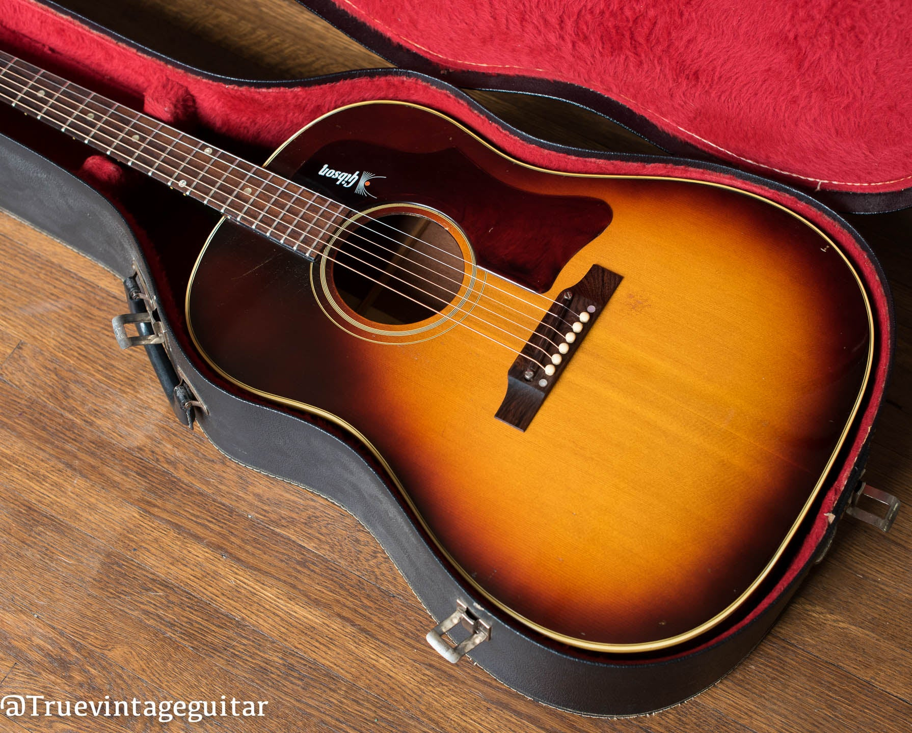 Vintage Gibson acoustic guitar J-45 1968