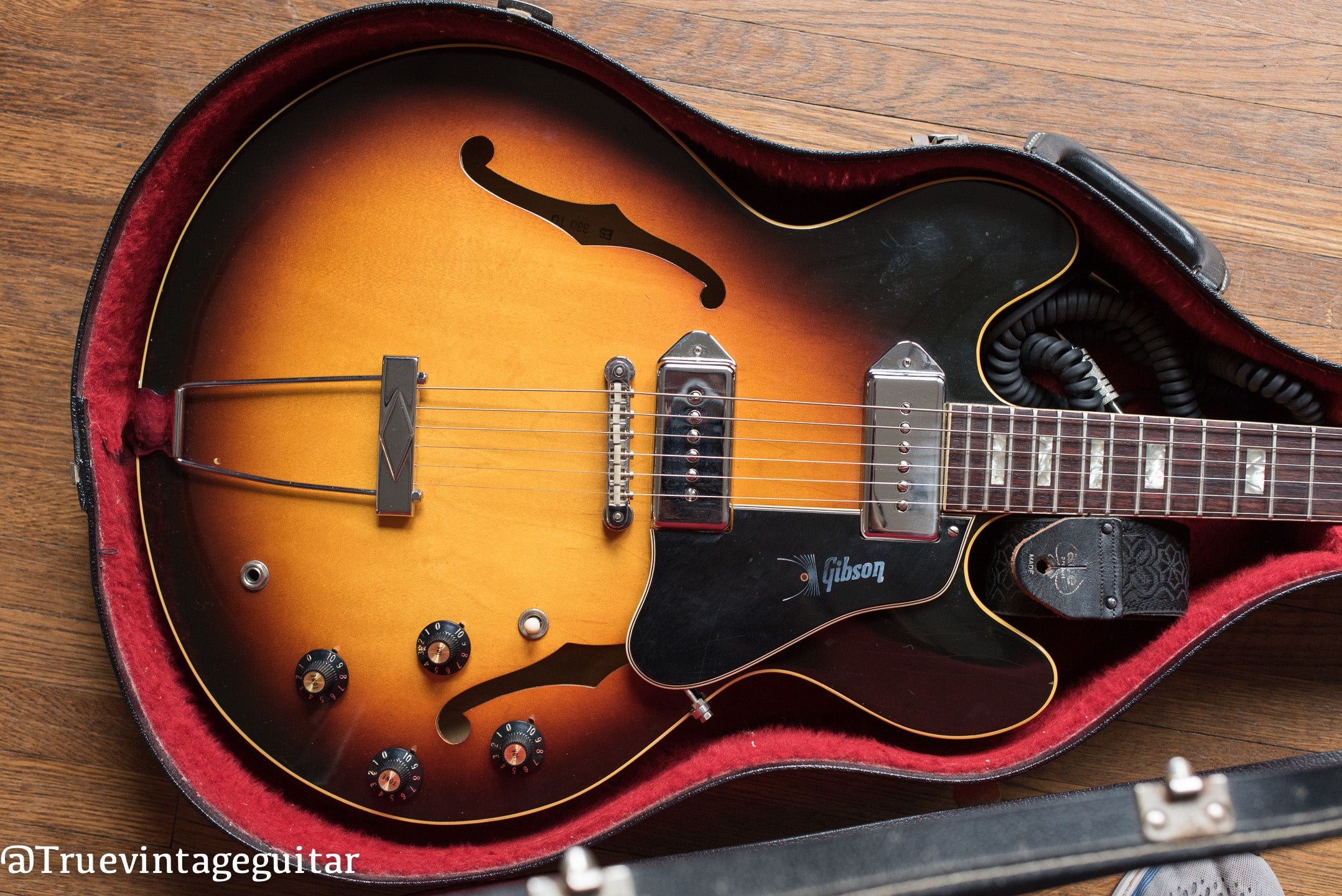 1968 Gibson ES-330TD Guitar in original case