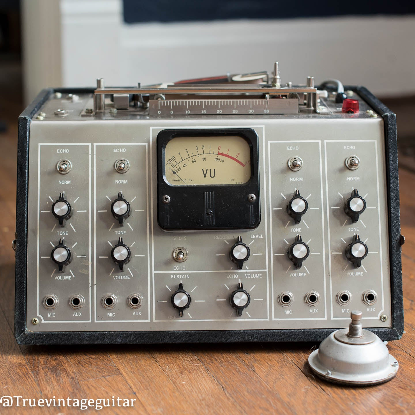 Vintage echoplex tape machine