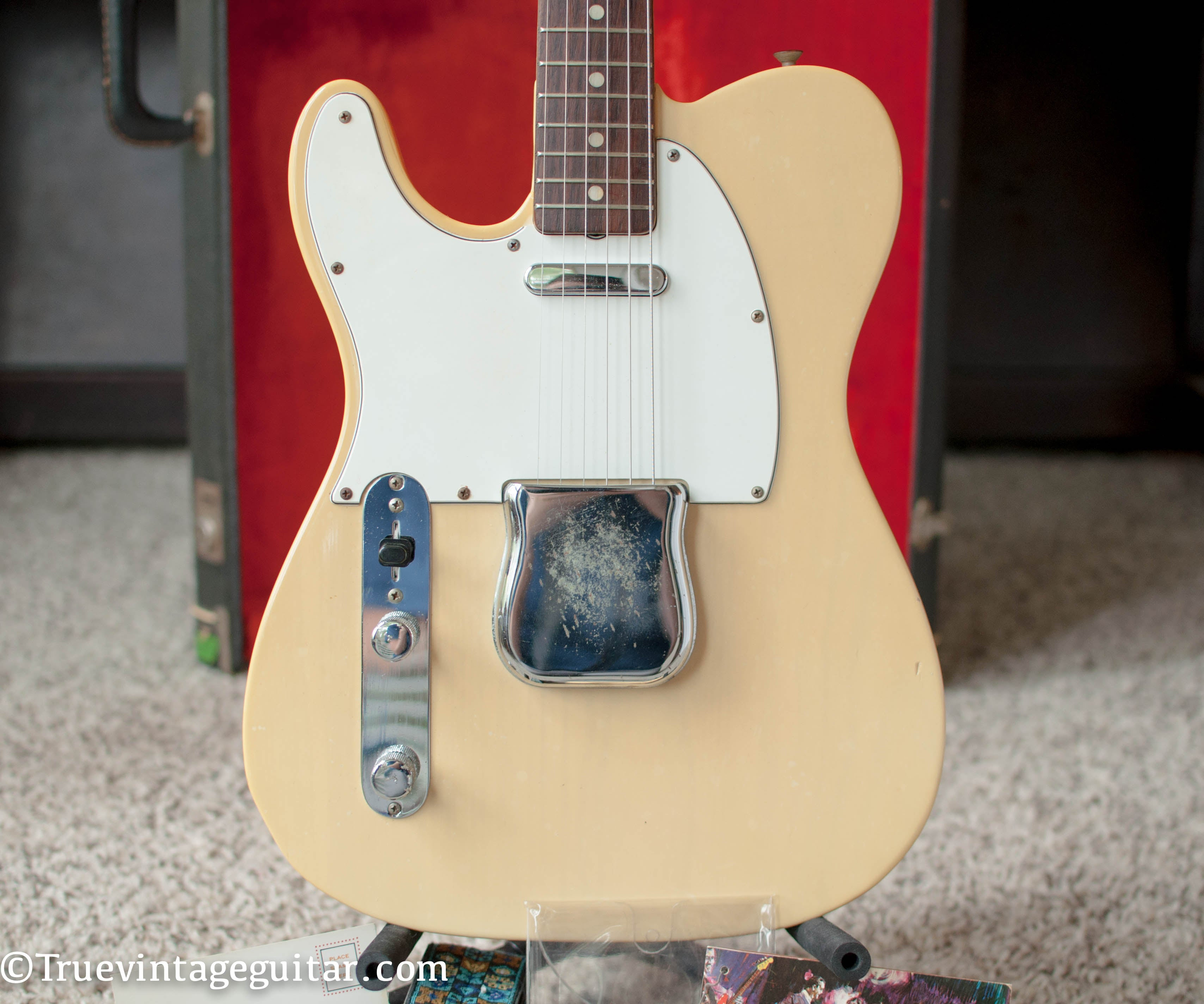 Lefty left handed Telecaster 1972 vintage