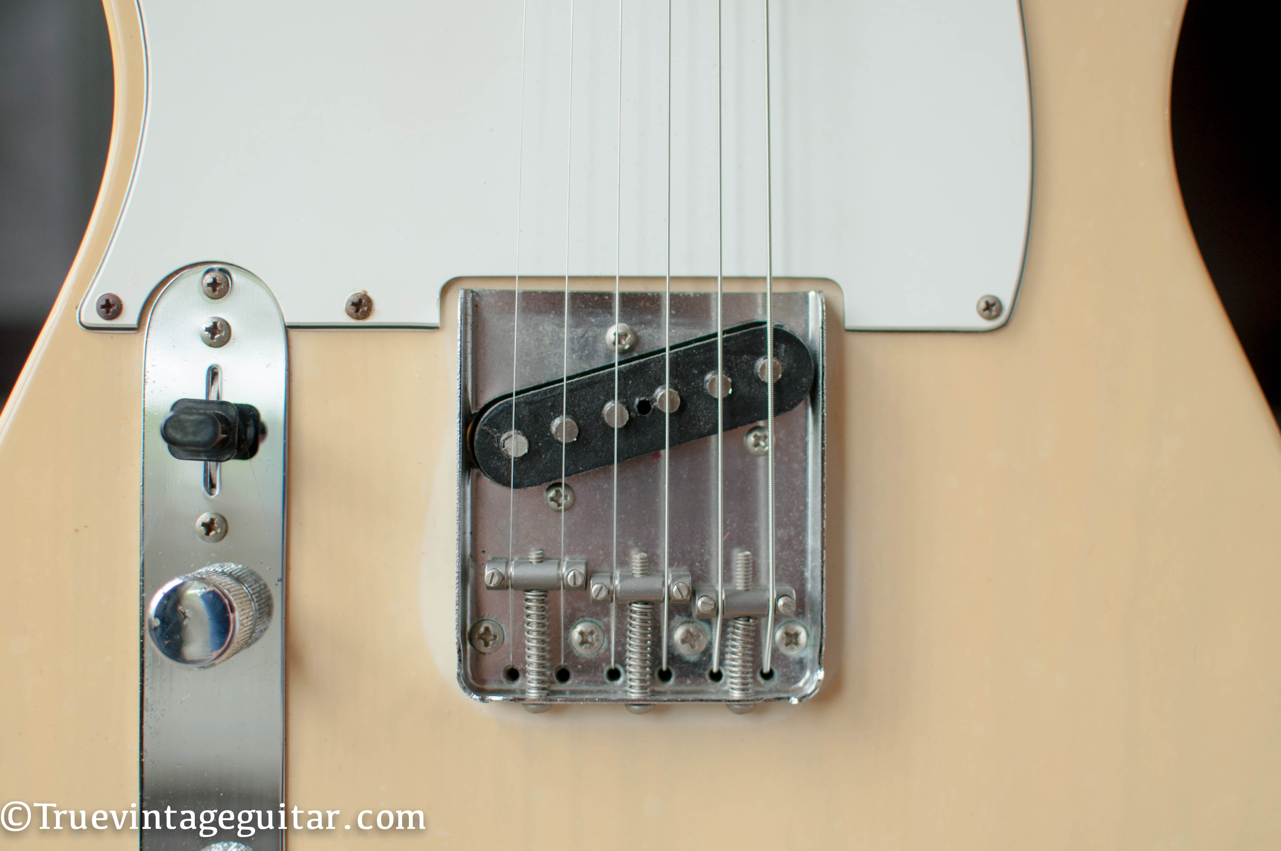 bridge pickup, 1972 Fender Telecaster lefty