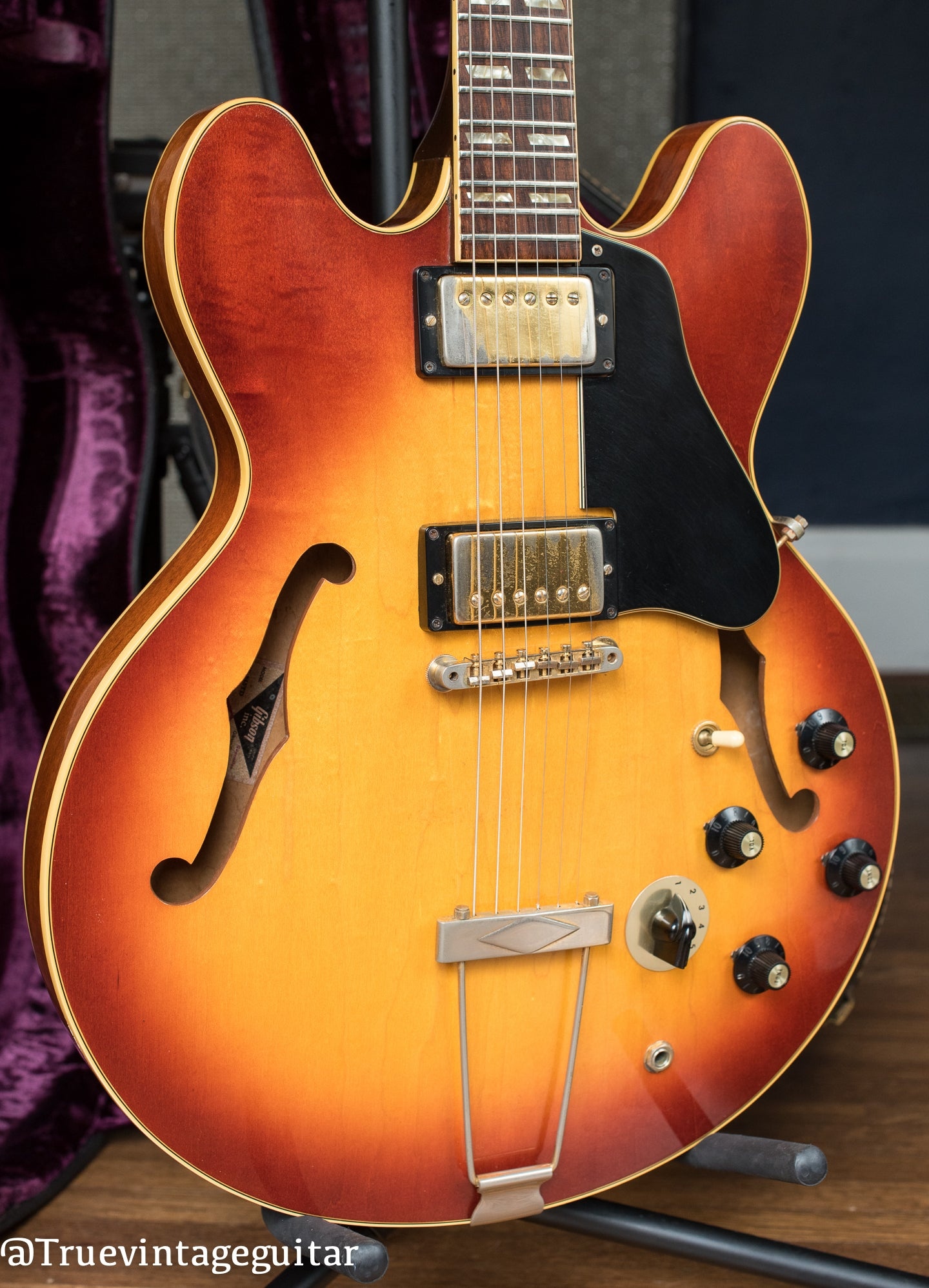1972 Gibson ES-345 Cherry Sunburst