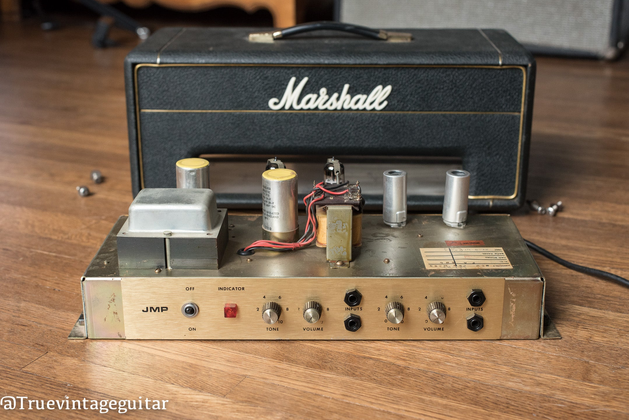 Marshall Lead-Bass 20 original chassis vintage