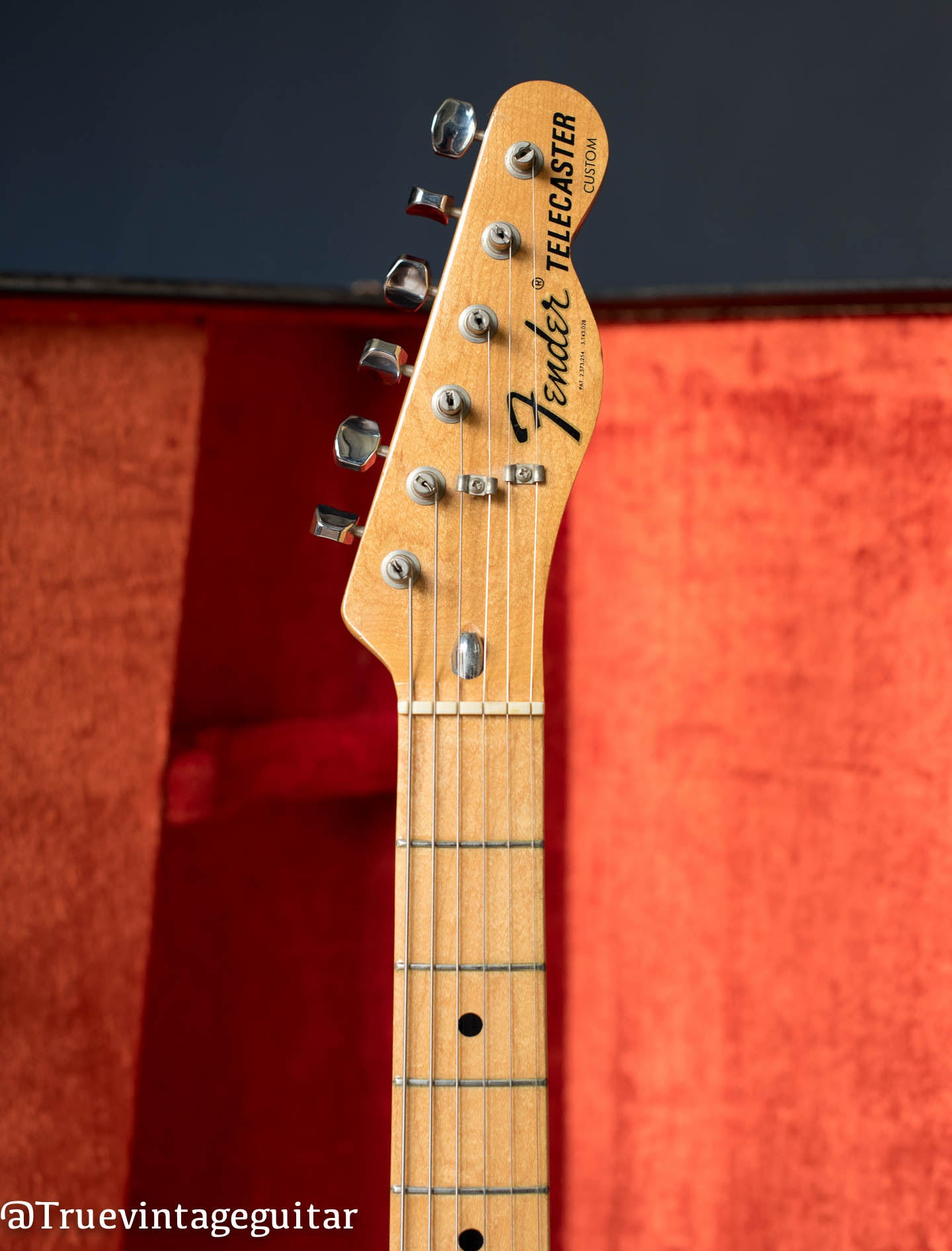 Fender Telecaster Custom headstock