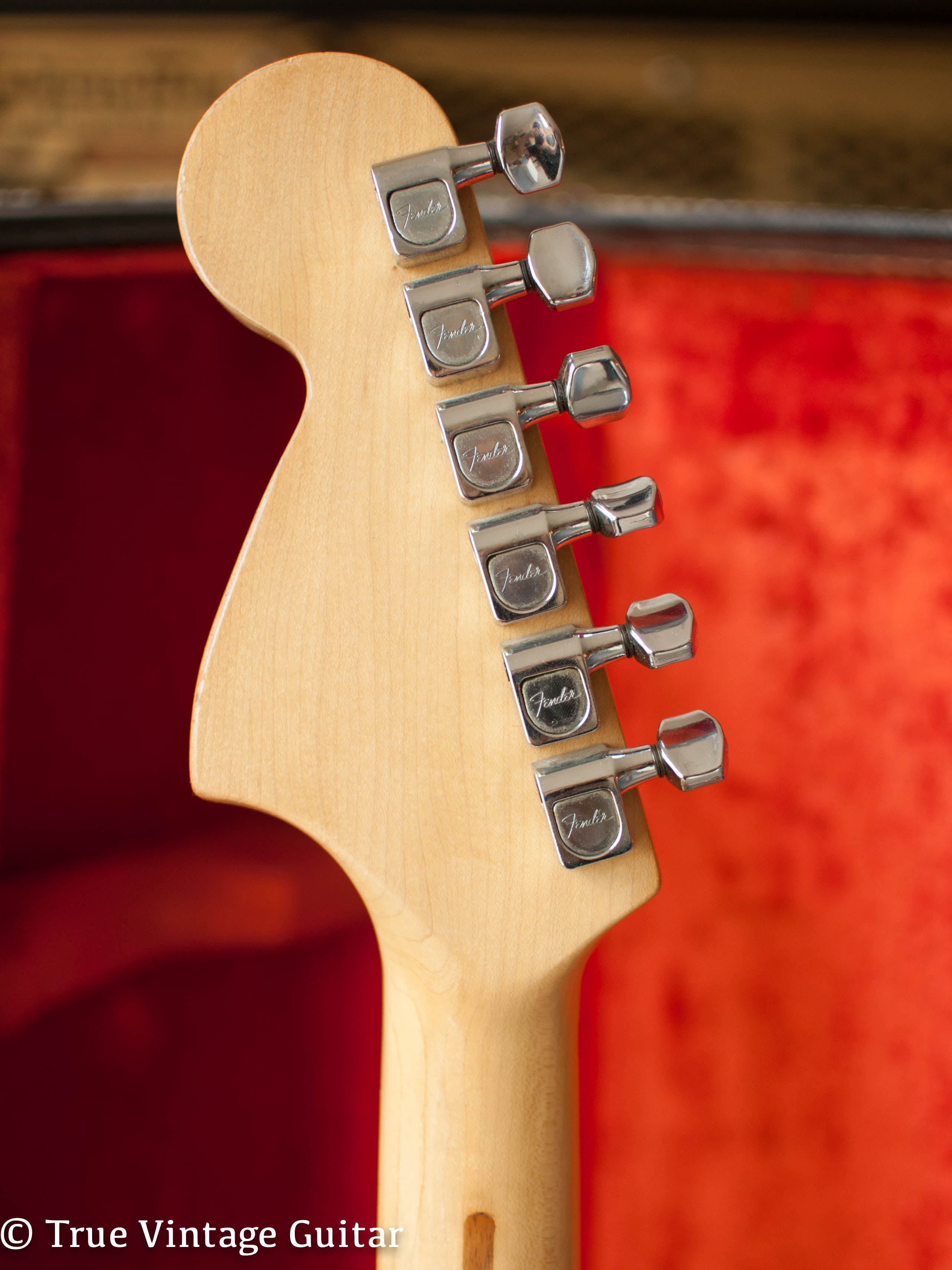 Sealed original tuners,1974 Fender Telecaster Deluxe