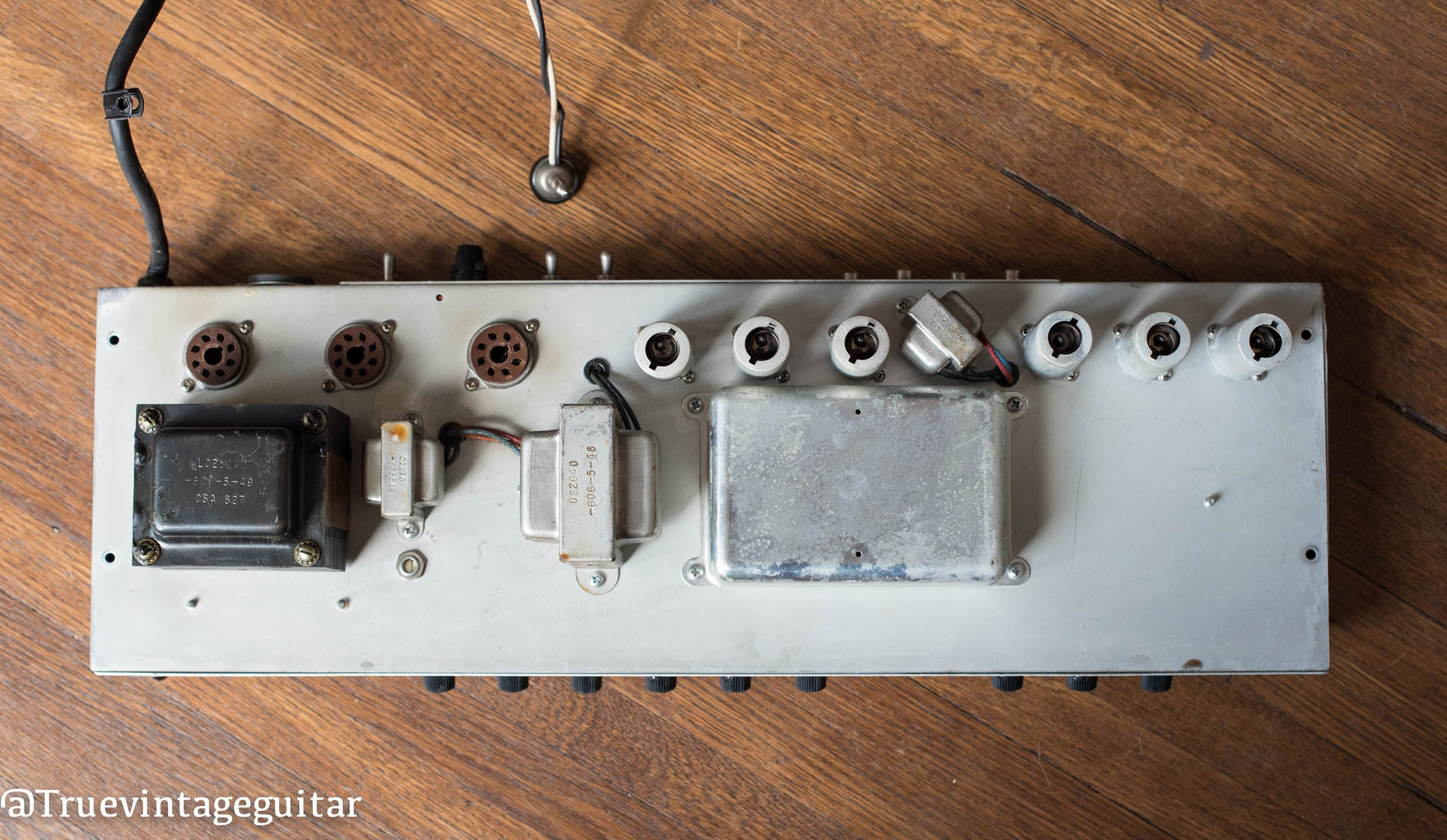 1976 Fender Deluxe Reverb output transformer, power transformer