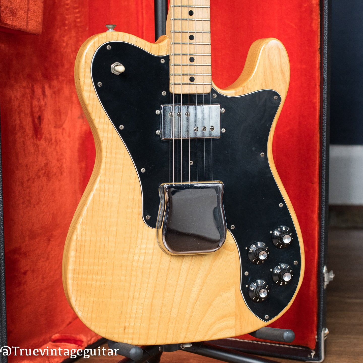 1975 Fender Telecaster Custom Natural body with bridge cover