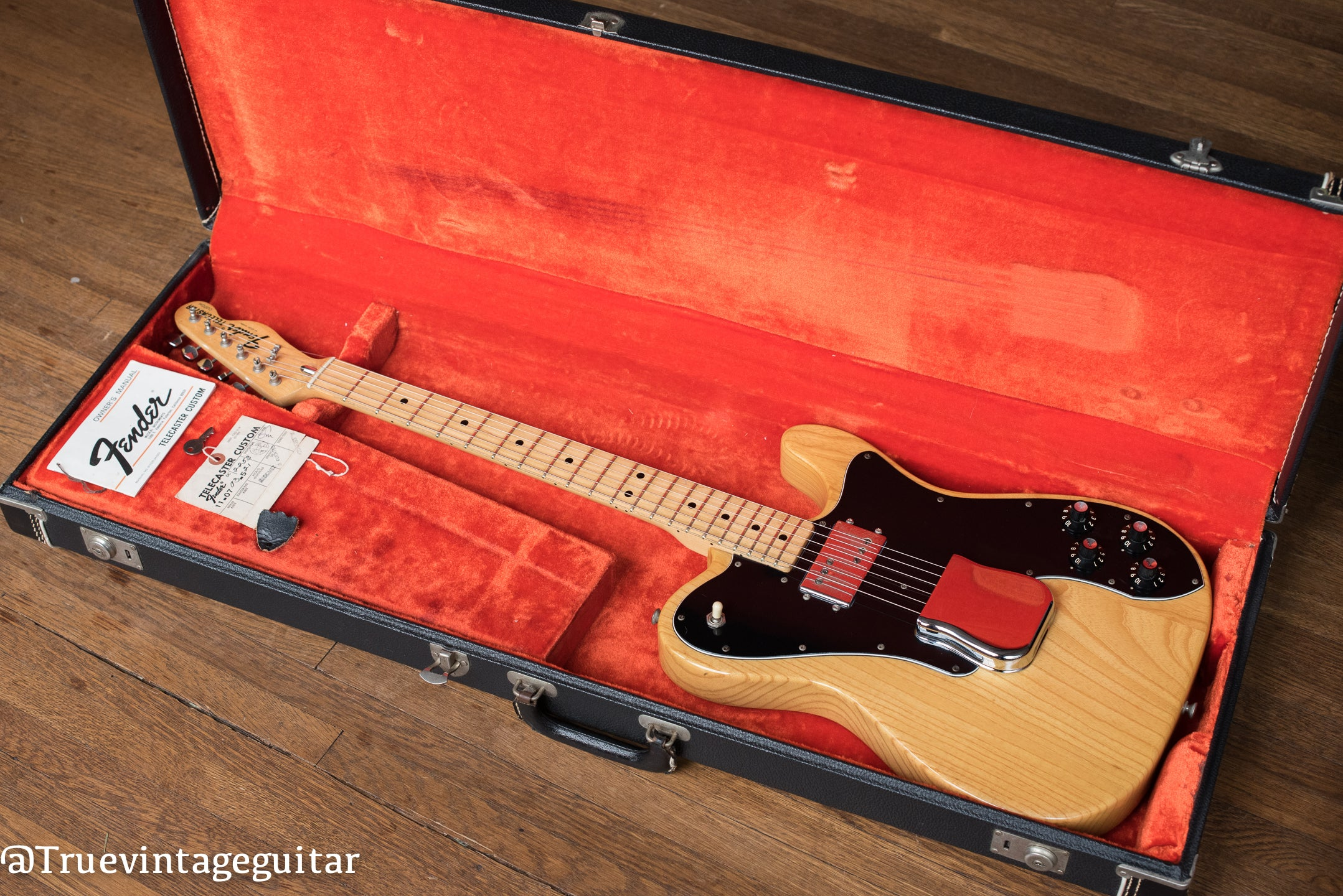 1975 Fender Telecaster Custom Natural with tags