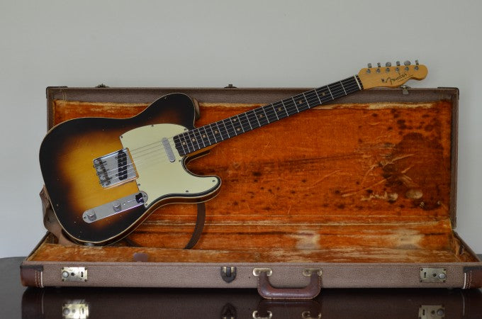 1960 Fender Custom Telecaster guitar